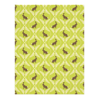 Chocolate Bunnies Dual-sided Scrapbook Paper A1