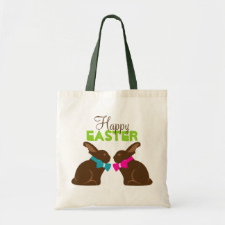 Chocolate Bunnies Easter Tote Bag