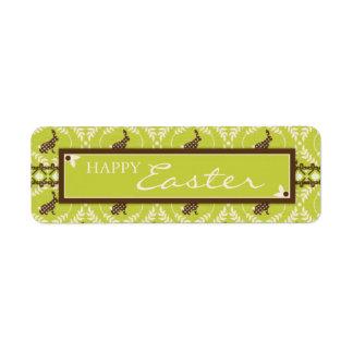 Chocolate Bunnies Gift Label