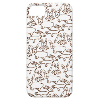 Chocolate Bunnies iPhone SE/5/5s Case