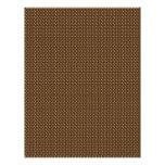 Chocolate Bunnies Scrapbook Paper C Letterhead Design