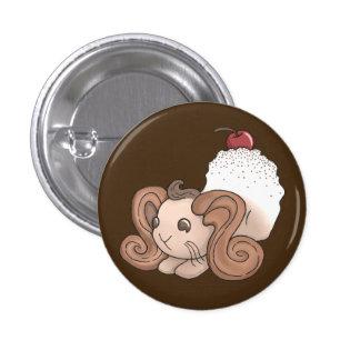 Chocolate Bunny Pinback Button