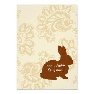 Chocolate Bunny Card