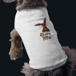 """Chocolate Bunny Dog Shirt<br><div class=""""desc"""">This funny Easter design celebrates the chocolate bunny eater in all of us. This shirt is a great way to include your pets in the Easter festivities.</div>"""