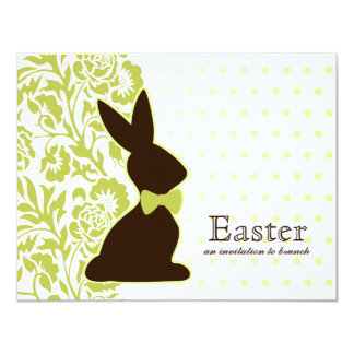 Chocolate Bunny Invitations