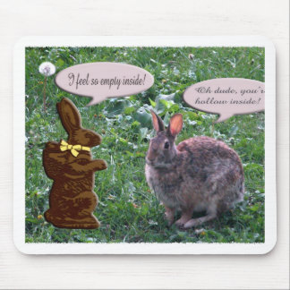 Chocolate Bunny Mouse Pad