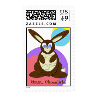 Chocolate Bunny Postage