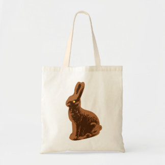 Chocolate Bunny Rabbit to wear Tote Bag