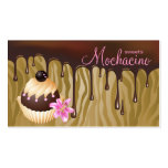 Chocolate Business Card Bakery Cupcake Caramel