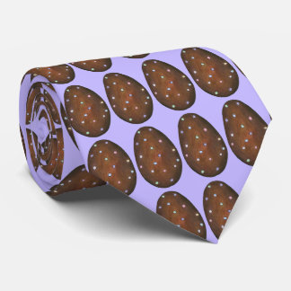 Chocolate Buttercream Easter Egg Candy Purple Tie