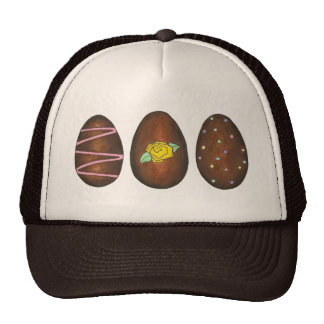 Chocolate Buttercream Easter Egg Eggs Candy Hat