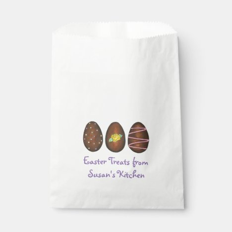 Chocolate Buttercream Egg Eggs Easter Candy Bag