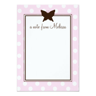 Chocolate Butterfly Card