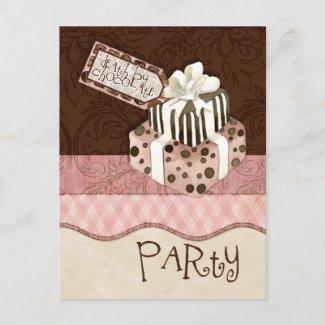 Zazzle, Birthday Party Post Card