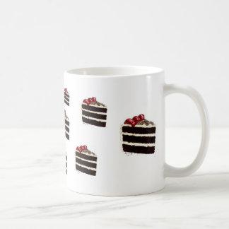 CHOCOLATE CAKE COFFEE MUG