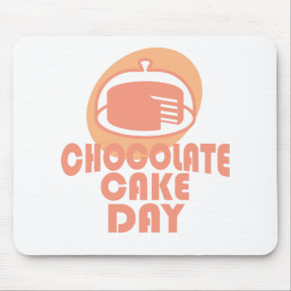 Chocolate Cake Day - Appreciation Day Mouse Pad
