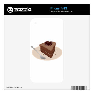 Chocolate Cake Decals For The iPhone 4S