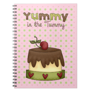 Chocolate Cake Note Book
