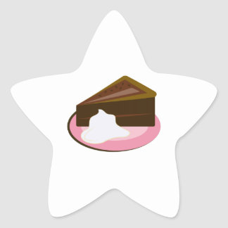 Chocolate Cake Slice Stickers
