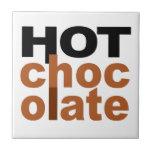 Chocolate caliente azulejos