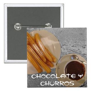 Chocolate Caliente con Churros Pins