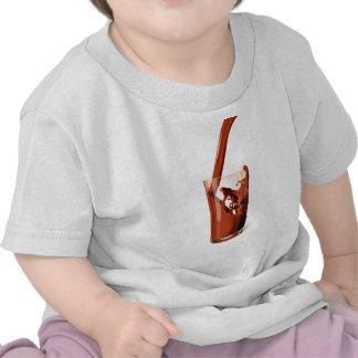Chocolate caliente camisetas