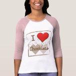 Chocolate Camisetas