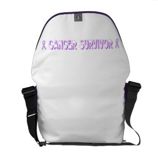 Chocolate Cancer Survivor Courier Bag