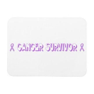 Chocolate Cancer Survivor Magnet