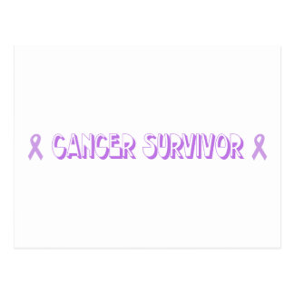 Chocolate Cancer Survivor Postcard