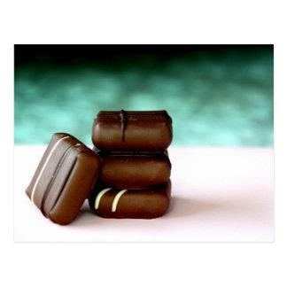 Chocolate Candies Postcard