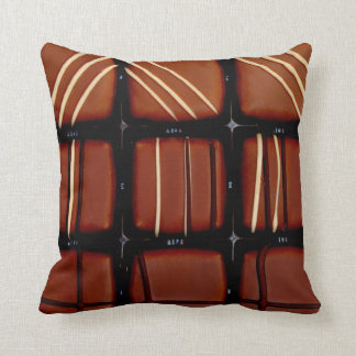 Chocolate Candies Throw Pillow