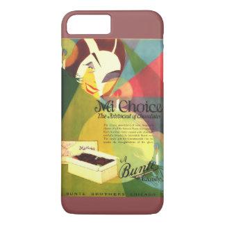 Chocolate Candy 1923 vintage ad iPhone 8 Plus/7 Plus Case