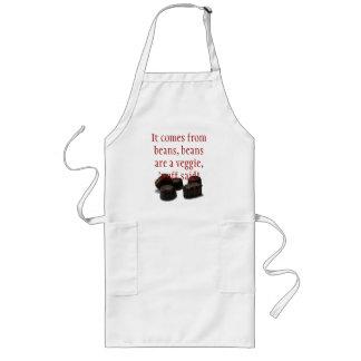chocolate candy apron