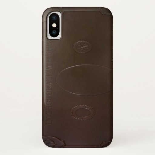 Chocolate Candy Bar Cash iPhone XS Case