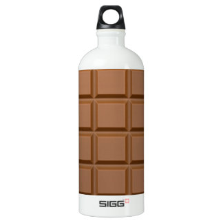 Chocolate Candy Bar Water Bottle