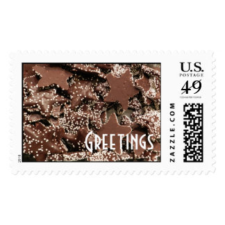 Chocolate Candy Brown Postage