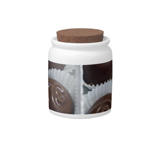Chocolate Candy Candy Jars