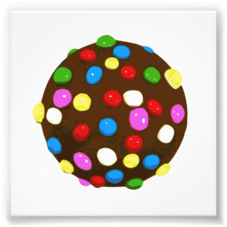 Chocolate Candy Color Ball Photograph