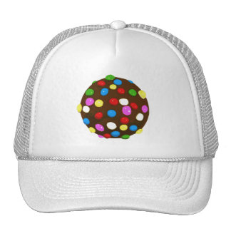 Chocolate Candy Color Ball Trucker Hat