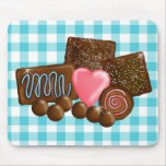 Chocolate  Candy Confections Mouse Pad
