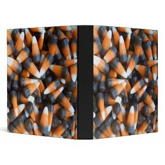 Chocolate Candy Corn Notebook Binder binder