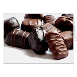 Chocolate Candy Greeting Card #1  11100