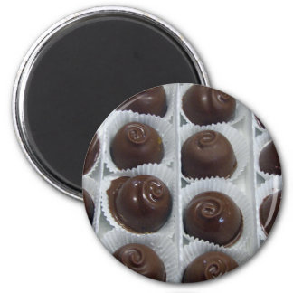 Chocolate Candy 2 Inch Round Magnet