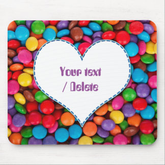 Chocolate Candy Mouse Pad