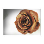 Chocolate Candy Rose Food Print Gallery Wrapped Canvas
