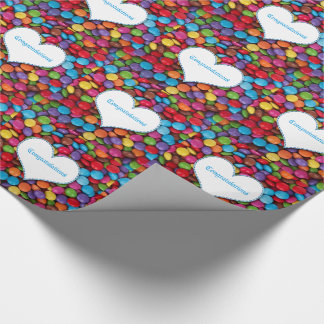 Chocolate Candy Wrapping Paper