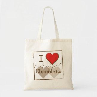Chocolate Canvas Bag