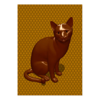 Chocolate Cat Business Card