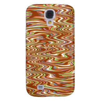 Chocolate Cereal Marshmallow Swirl Pattern Samsung Galaxy S4 Cover